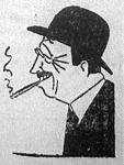 Tardieu, ahogy a karikaturista latja