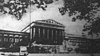 Az osztrák parlament épülete