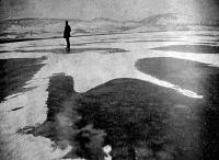 Hóbarkhánok a Balaton jegén