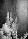 Cseppkő, stalagmitcsoport