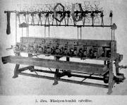 Műselyemgyártás, csévélés