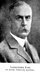 Landsteiner Karl orvosi Nobel-díjas