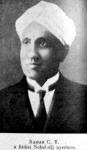 Raman C. V. fizikai Nobel-díjas
