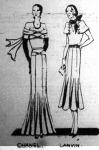 Chanel és Lanvin modellek