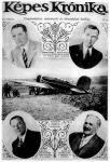 Magyar Sándor és Endresz György a Justice for Hungary nevű repülőgéppel és támogatóikkal, 1931