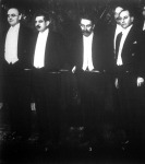 Balról jobbra Brüning, Laval, Briand és Curtius