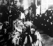 Ivar Kreuger, a svéd gyufakirály temetése.