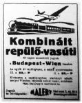 Budapest-Wien menettérti jegyek (hirdetés)
