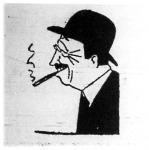 Tardieu (A Reggel karikatúrája)