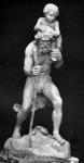 Szent Kristóf - Hűvös László szoborműve