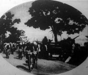 A verseny egyik jelenete