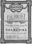 1929. Velmetina arcápoló