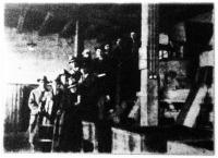 Német gazdaifjak csoportja Szegeden, a Farkas-féle paprikamalomban