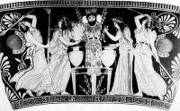 Görög vázakép a Lysistrateból
