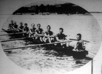 A Ludovika II. zölddresszes győztes csapata