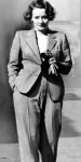 Marlene Dietrich modell Coco Chanel, 1933.