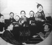 Éneklő kisdiákok
