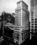 A híres newyorki értéktőzsde épülete