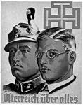 Eddig békességben megvolt Dollfuss kancellár és Starhemberg, a Heimwehr vezére