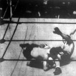 Jelenet a Carnera-Max Baer boxmeccsről