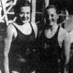 Theresa Blondeau (balra) és Lenkey Magda