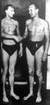 Lengyel Árpád (jobbra) gratulál Csík Ferencnek
