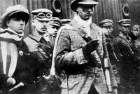 Cserny József és csapata. Sokszor múködtek együtt a Szamuely- féle Lenin fiúkkal