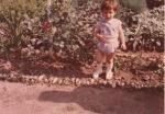 Két évesen nagymaminál